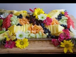 graduation fruit arrangements how to make a beautiful fruit tray brunch fruit platter