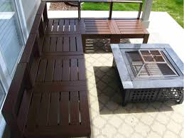 How To Make Patio Furniture Out Of Pallets Exterior Endearing Contemporary Patio Furniture Build