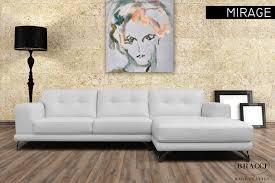 Designer Profile Bracci Italian Leather Sofas Parc ModernParc - Italian designer leather sofas