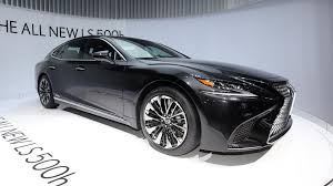 lexus ls features 2018 lexus ls 500h is for the eco conscious luxury sedan buyer