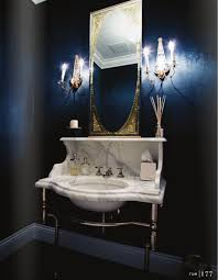 navy blue bathroom ideas blue wall bathroom bathroom design ideas 43 calm and