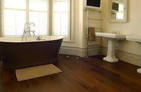 Bathroom Flooring Ideas Photos Bathroom Wood Floors Bathroom Hardwood Installing In Faux