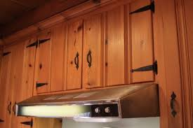 Knotty Pine Kitchen Cabinet Doors A Knotty Pine Kitchen Respectfully Retained And Revived Retro