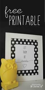 guest post free u0027let them be little u0027 printable and diy photo mat