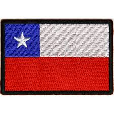 Cile Flag Chile Flag Patch