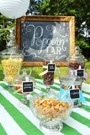backyard party food ideas sweet 16 outdoor movie party