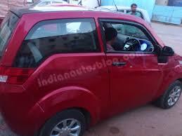 Mahindra Reva E20 Interior Spied Mahindra E2o Shows Its Interior For The First Time