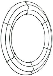 wreath forms wire wreath frame 12 green