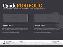 portfolio powerpoint template dark powerpoint template alanmolnar