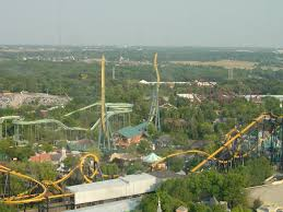 Biggest Six Flags Great America Six Flags Chicago Illinois Random Pinterest