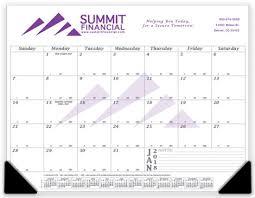 desk pad calendars promotional calendars u0026 planners custom