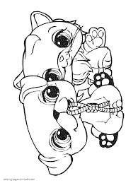 beautiful lps coloring pages 11 additional coloring books