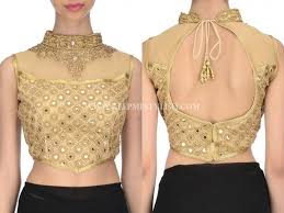 blouse design a guide to get best gold blouse designs keep me stylish