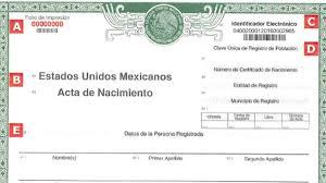 formato de acta de nacimiento en blanco gratis ensayos formato único de acta de nacimiento imp informa