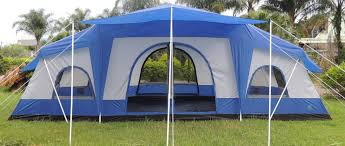 dome tent for sale deluxe 4 room cabin tent 24 u0027x10 u0027 large camping tent sleeps 12 16