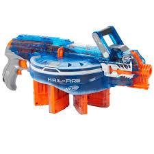 nerf car shooter nerf n strike elite sonic ice series hail fire blaster hasbro