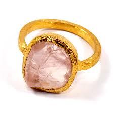 rings wholesale images Rose quartz f brr929 marvellous brass alloy rough gemstone jpg