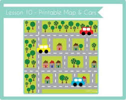 printable road maps crafty kids academy lesson 10 printable road map cars rocco