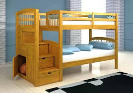 bunk bed with storage drawers and stairs white beds modern twin