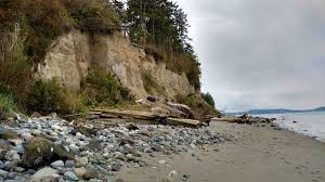 Map Of Sequim Wa Sources Of Sand Maps Show Crucial U201cfeeder Bluffs U201d Encyclopedia