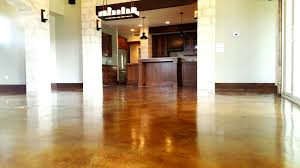 Laminate Flooring On Concrete Slab Concrete Flooring Staining Pros U0026 Cons Homeadvisor