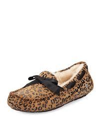 ugg sale neiman ugg dakota leopard bow tie slipper neiman