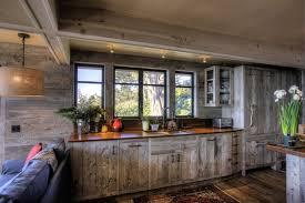 Reclaimed Barn Wood Kitchen Cabinets Interior Design For Kitchen De La Luz Style Santa Barbara By