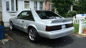 fox body tail lights 87 93 smoked lx tail lights mustang forums at stangnet
