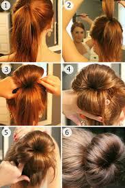 cuisiner des chignons en boite coiffure simple cheveux tresse et chignon en 26 idées