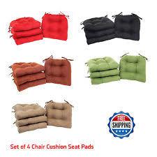 Patio Chair Cushions Set Of 4 Patio Cushion Set Ebay