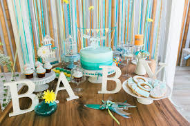 baby shower table ideas turquoise gorgeous baby boy shower table decorations baby