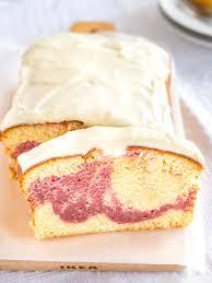 copycat starbucks raspberry swirl pound cake plated cravings