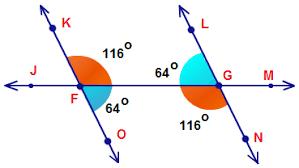 Example Of Alternate Interior Angles Congruent Angles Mathcaptain Com