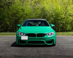 green bmw m4 wrapped bmw m4