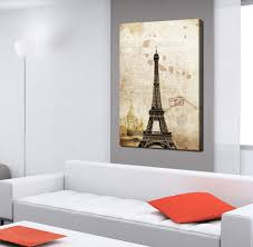 Eiffel Towers For Decoration 1 Piece Sell Paris Eiffel Tower Picture Printed On Canvas Arts