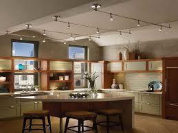 nice track light design kitchen design of kitchen track lighting