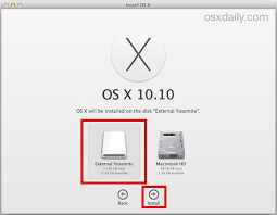 How To Install Center Jump How To Install Os X Yosemite On Any External Drive Thumb Drive