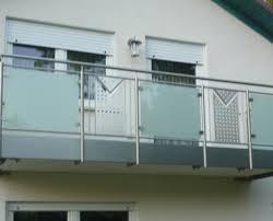 edelstahl balkon mit glas metallbau schäfer französische balkone