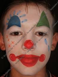 boy clown clowns pinterest face paintings