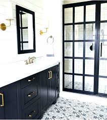 black and white bathroom decor ideas white and gold bathroom 451press