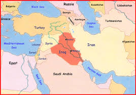 Iran On World Map From Where The Antichrist Comes