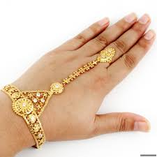 bracelet with ring gold images Ring bracelet JPG