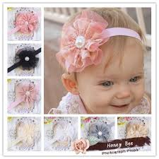 how to make baby flower headbands diy 4 vintage lace flower frilly hair flowers headbands baby girl