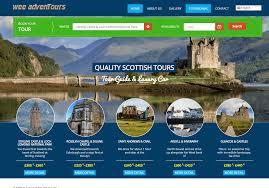 travel and tours web design malaysia freelance website