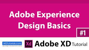 experience design adobe experience design basics adobe xd tutorial 1