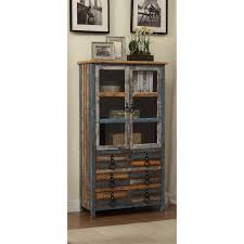 high cabinet with drawers powell furniture 114 861 calypso high cabinet homeclick com