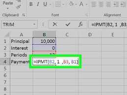 Mortgage Calculation Spreadsheet How To Calculate An Interest Payment Using Microsoft Excel