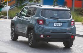 jeep renegade sierra blue trailblazing jeep renegade road tests driven