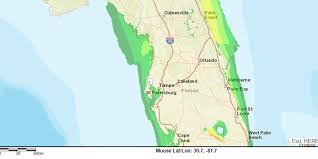 Palm Coast Florida Map Hurricane Irma Storm Surge Could Cause Some Flooding Along