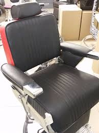 red and black barber chairs 2 available in queens park london